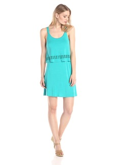 Kensie Women's Jersey Pop-Over Dress