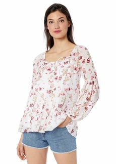 kensie Women's Keepsake Floral Top  L