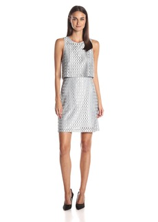 kensie Women's Lace Ladder Dress