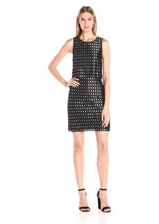 Kensie Women's Lace Ladder Dress