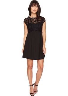 kensie Women's Lace Netting Dress  M