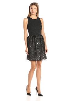 Kensie Women's Lace Rings Dress