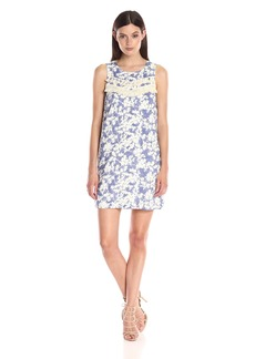 Kensie Women's Layered Orchids Dress