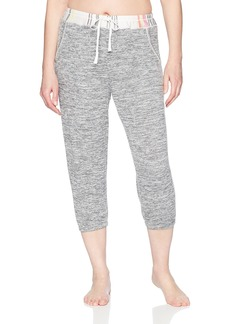 kensie Women's Light Weight Cropped Jogger Pant  M