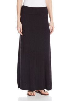 kensie Women's Light Weight Jersey Maxi Skirt
