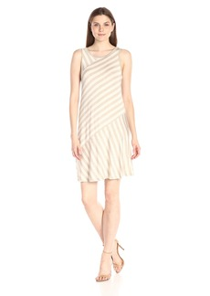 Kensie Women's Lightweight Spandex Stripe Dress