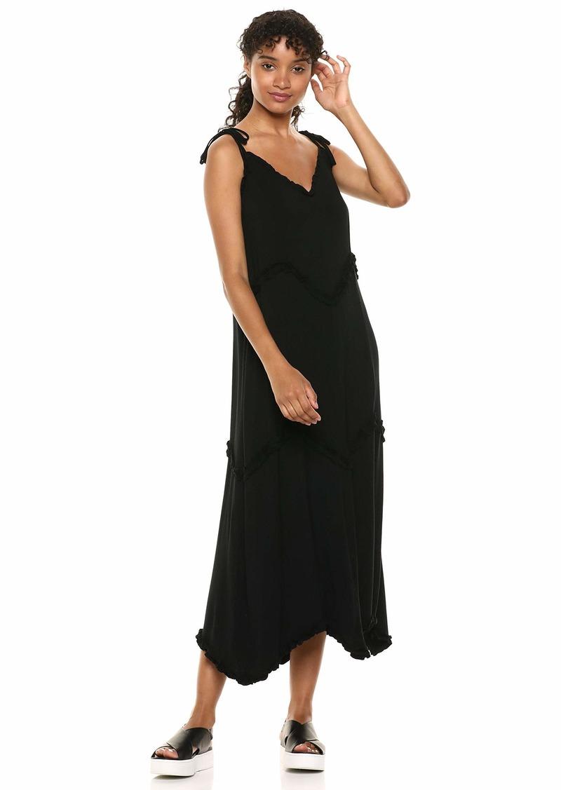 kensie Women's Lightweight Viscose Maxi Dress  S