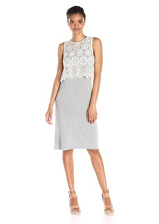 kensie Women's Lightweight Viscose Spandex Dress