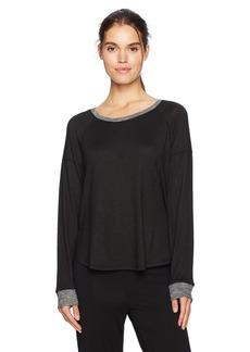 Kensie Women's Long Sleeve Marled Top  S