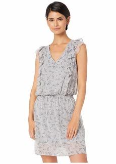 kensie Women's Loose Floral Dress  XL