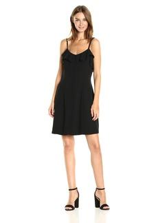 Kensie Women's Luxury Crepe Dress with Spaghetti Straps  XL