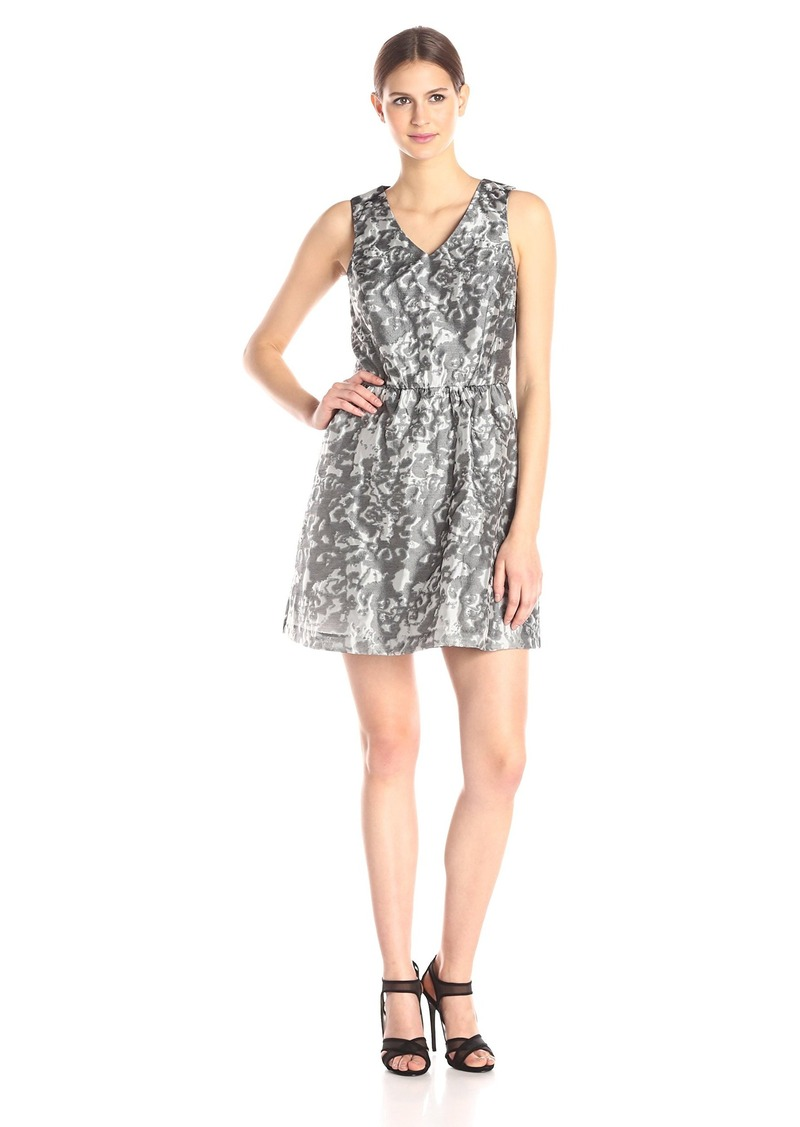 Kensie Women's Marble Brocade Dress