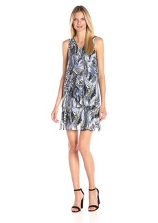 Kensie Women's Marble Swirl Dress