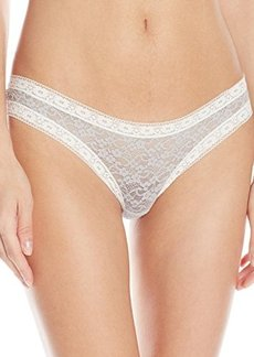 Kensie Women's Mattie Lace Thong Panty