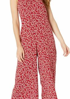 kensie Women's Meadow Floral Jumpsuit  S