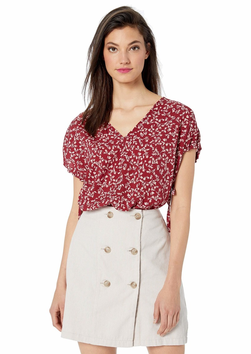 kensie Women's Meadow Floral Top  XS