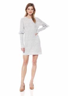 kensie Women's Melange Knit Sweater Dress  L