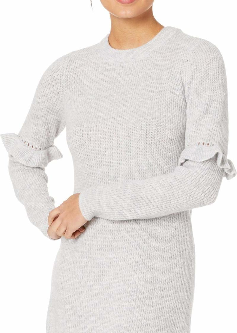 kensie Women's Melange Knit Sweater Dress  XL