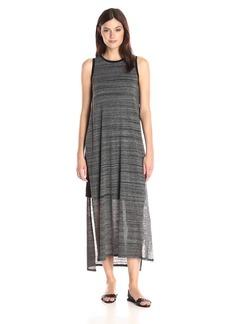 Kensie Women's Mixed Streaky Jersey Midi Dress