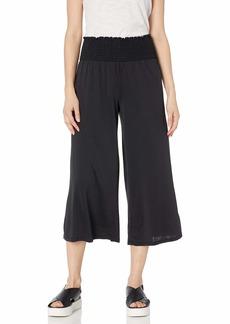 kensie Women's Modal Jersey Mixi Pant  L