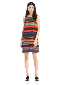 Kensie Women's Noisy Stripes Sleeveless Dress
