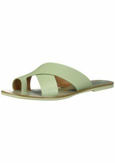 kensie Women's Nola Flat Sandal   M US