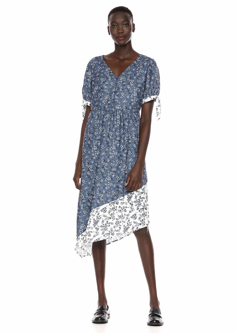 kensie Women's Nostalgic Blooms Midi Dress