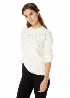 kensie Women's Nubby Textured Sweater  S