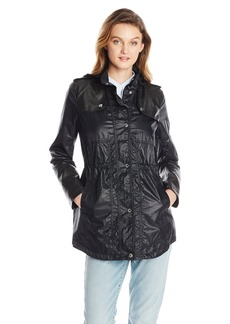 Kensie Women's Nylon Anorak  mall