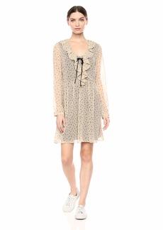 kensie Women's Odd Dot Dress  S