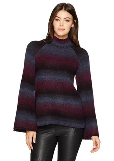 kensie Women's Ombre Touch Sweater  M