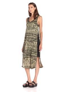 Kensie Women's Paint Splotch Stripes Dress
