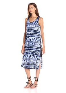Kensie Women's Paint Splotch Stripes Dress