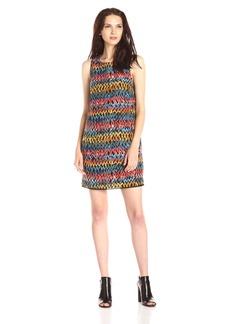 Kensie Women's Painted Zig Zag Dress