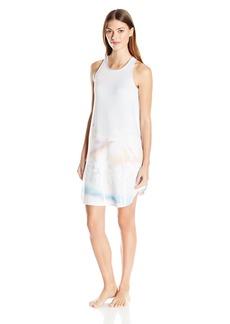 kensie Women's Palm Tree Tank Dress  M
