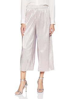 kensie Women's Pleated Shine Midi Pant  S