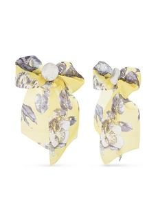Kensie Women's Polished Ribbon Design Post Earrings