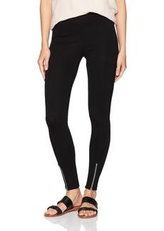 kensie Women's Ponte Pant With Zipper At Hem  XL