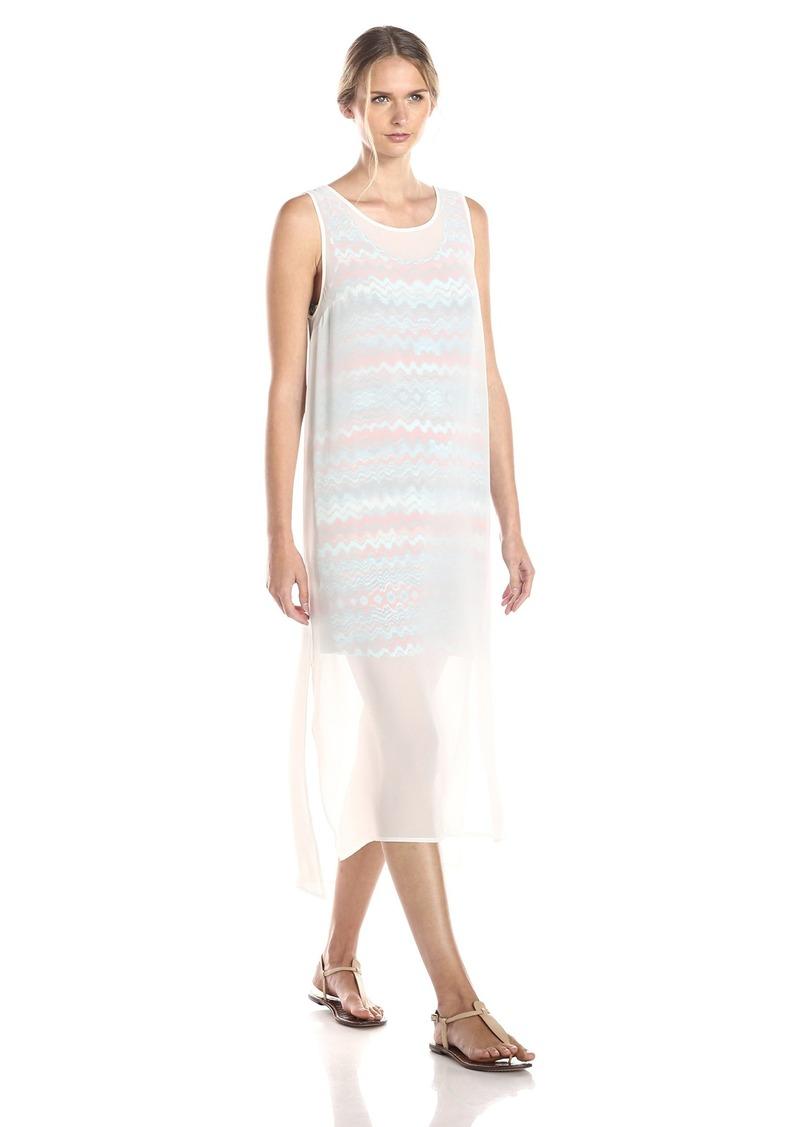 kensie Women's Printed Crepe Chiffon Dress