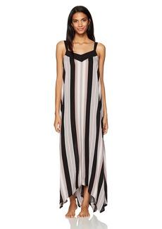 kensie Women's Printed Maxi Sleep Dress  S