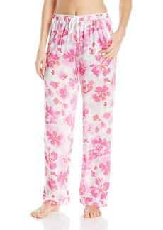 kensie Women's Printed Pajama Pant  L