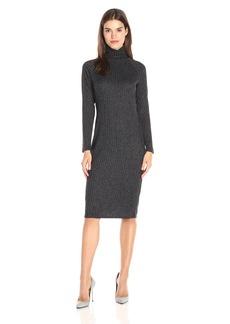 kensie Women's Rayon Rib Midi Dress  XS