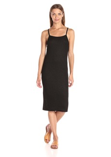 Kensie Women's Rayon Rib Midi Tank Dress