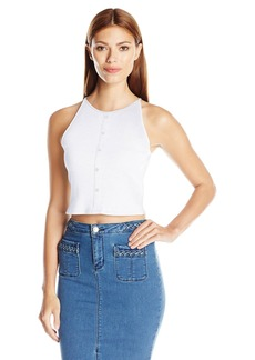 Kensie Women's Rib Crop Top