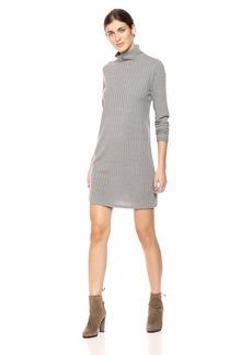 kensie Women's Rib Knit Turtlneck Dress  S