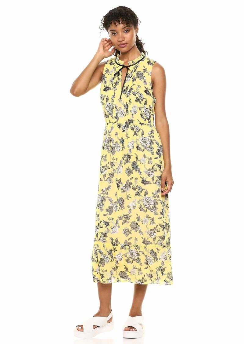 kensie Women's Romantic Rose Maxi Dress  XL