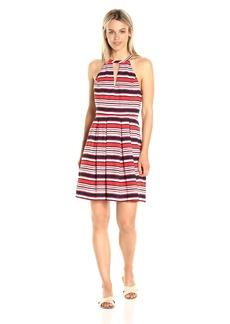 Kensie Women's Sandbox Stripes Dress  L