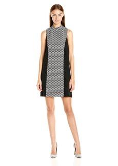 Kensie Women's Scale Brocade Dress  M