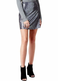 kensie Women's Sequin Skirt  L