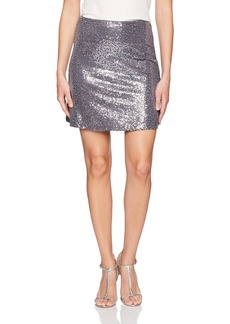 kensie Women's Sequin Skirt  XL